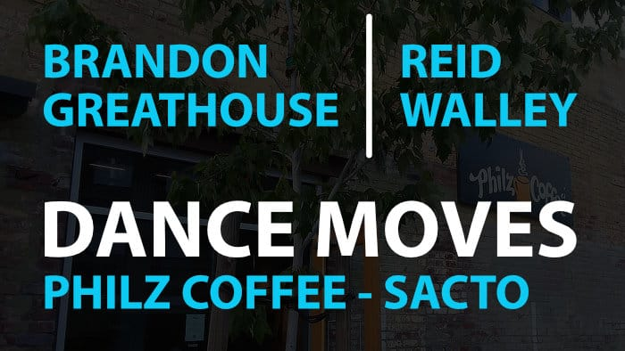 Brandon Greathouse & Reid Walley - Dance Moves at Philz Coffee Sacramento