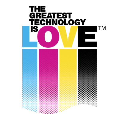The Greatest Technology Is Love T Shirts