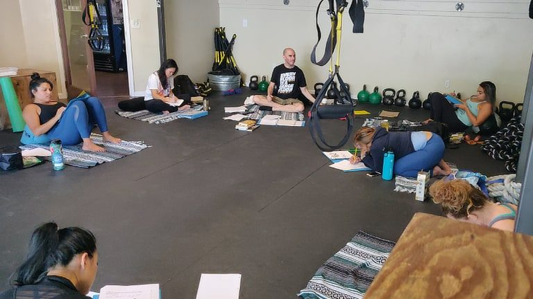 Confidence Workshop P2O Hot Pilates Sept 21, 2019
