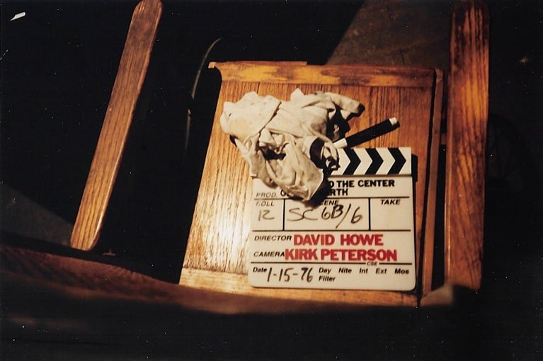 Johnny to the Center of the Earth 05 - Clapperboard