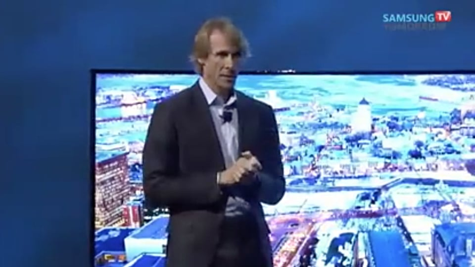 Michael Bay Doesn't Have To Suck at Public Speaking