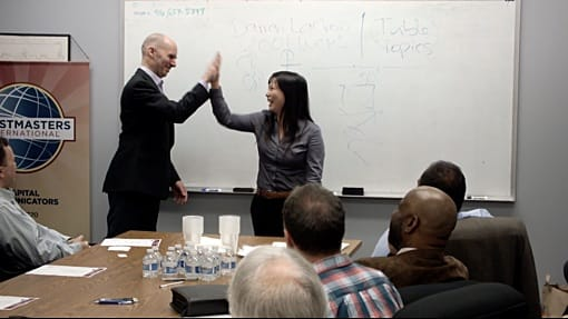Reid Walley Public Speaking Toastmasters Mini-Workshop Capital Communicators Open-House