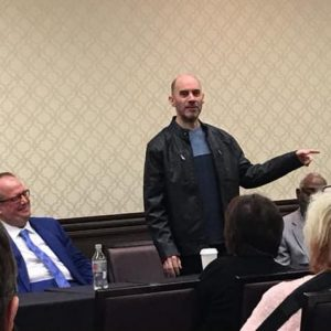 Reid Walley - Toastmasters 2017 District 39 Fall Conf - Speaking to Win Panel - Pic 1