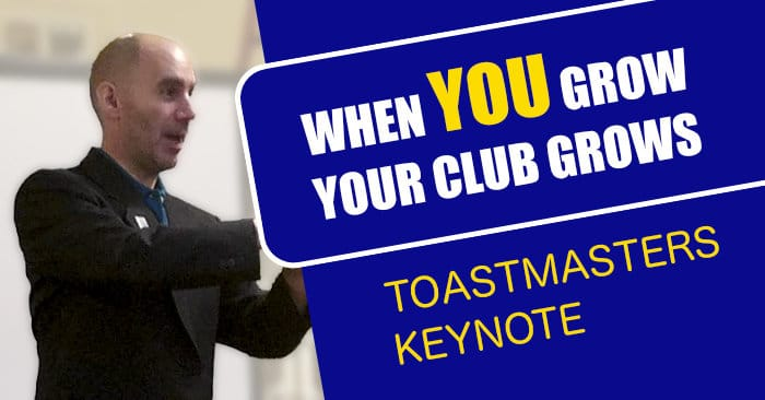 Reid Walley - When You Grow, Your Club Grows - 2017 Toastmasters Keynote Division C Leadership Dinner