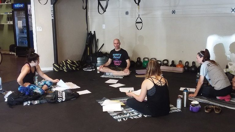 Confidence Workshop P2O Hot Pilates Sept 22 2018 01